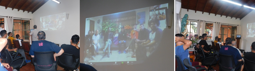 Fraternity without Borders:  A Virtual Meeting between the Marist Novitiates of Arco Norte & America Sur